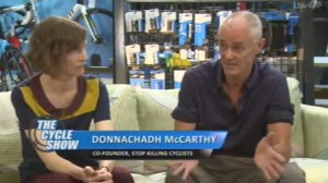 ITV Cycle Show interviewed Dr. Rachel Aldred and Donnachadh McCarthy. Click to watch the interview.