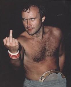 Phil Collins Has A Message For Big Masturbation