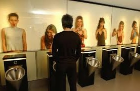 Always urinate as if someone is watching