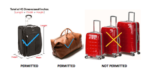 Air Excel Luggage Guidelines