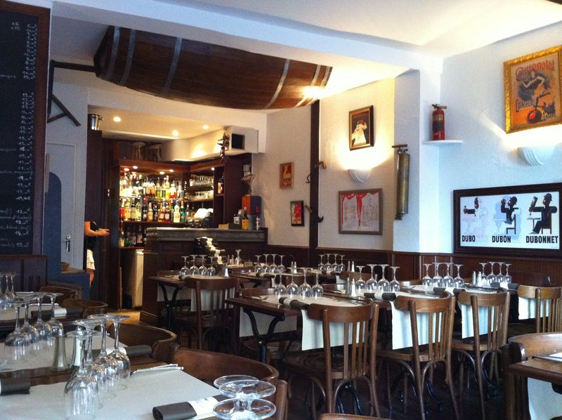 Les pissenlits par la racine restaurant butte aux - Restaurant butte aux cailles ...