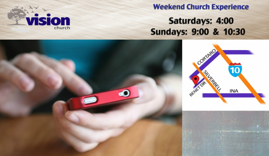 Vision Church / Contact Us / Address  Phone Number - address to phone
