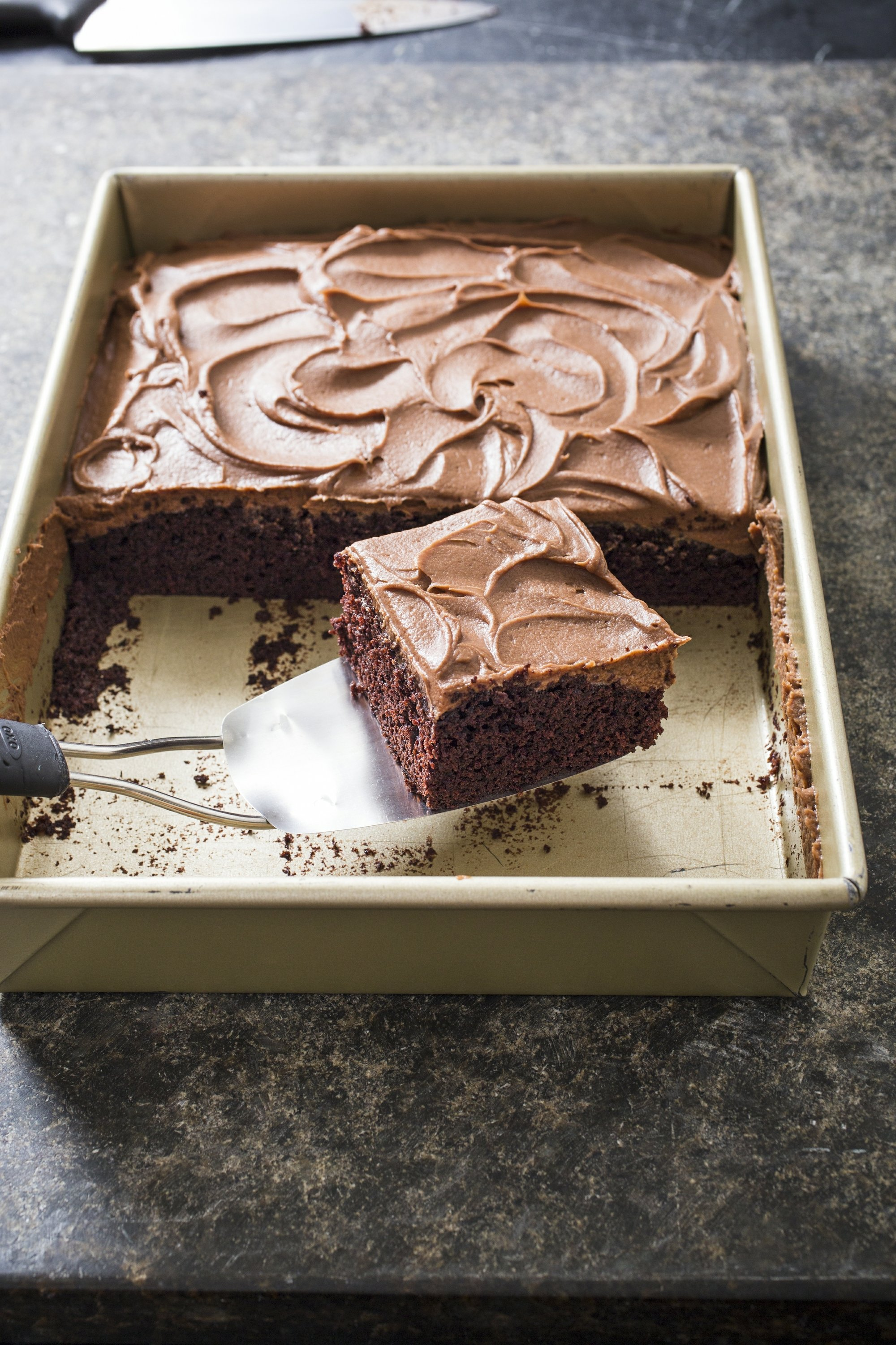 Global Küchen Test Invite Your Kids To Help Make This Chocolate Sheet Cake