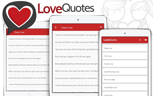 Love Quotes - Deep love quotations and poems App - Free Offline