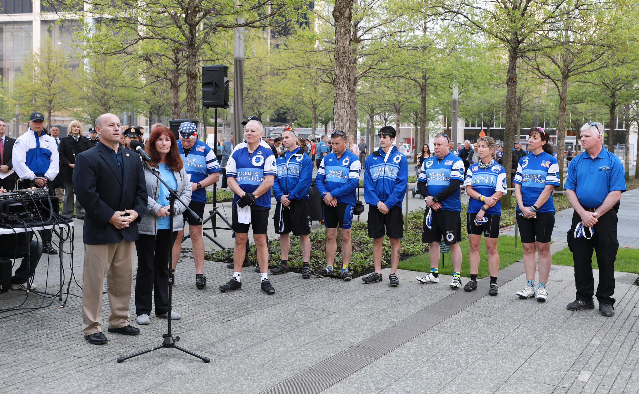 37 Tour Police Unity Tour Bike Ride Pays Tribute To Fallen Police Officers