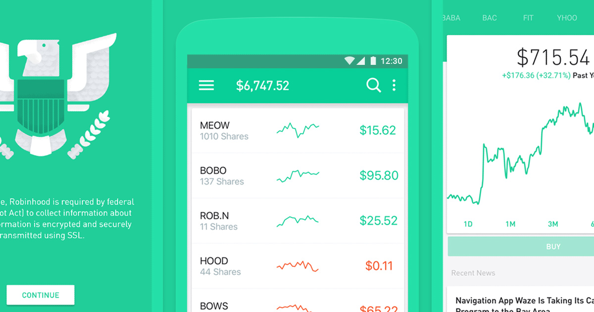 Robinhood Investing in Material - Library - Google Design