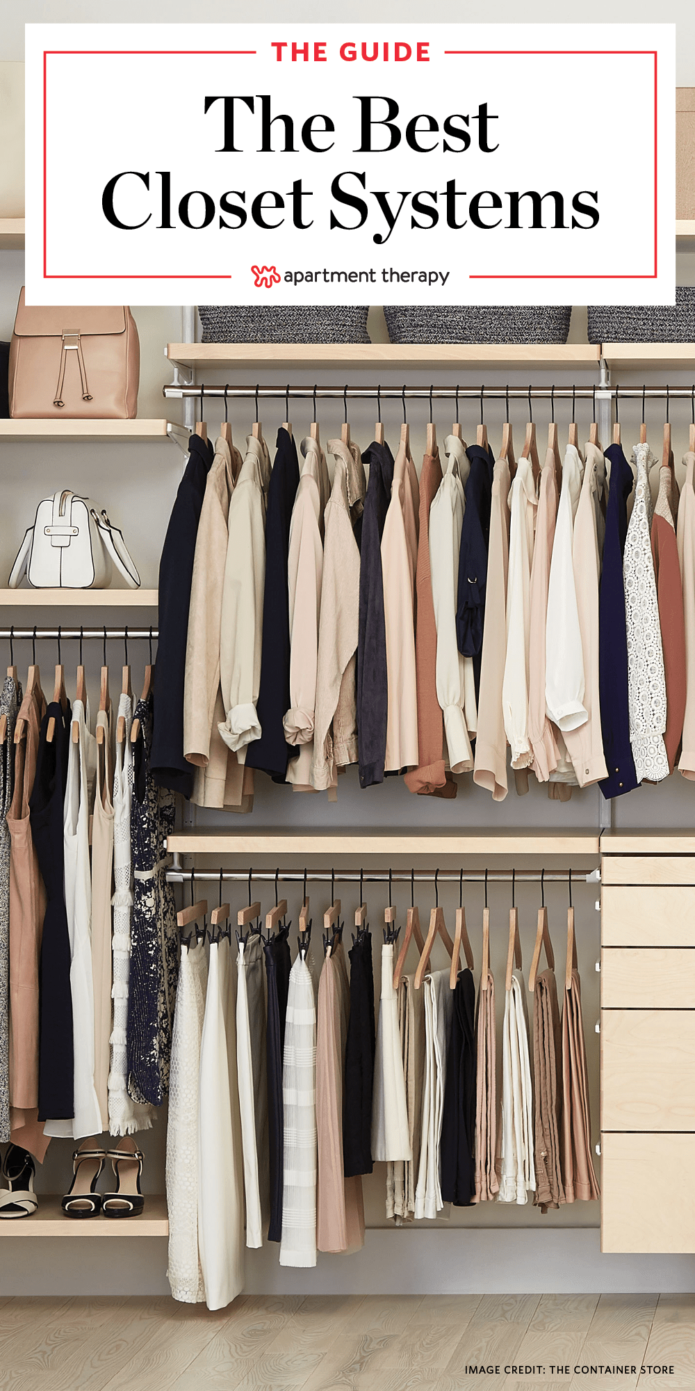 Best Closet Systems The Best Closet Systems To Organize Your Wardrobe Apartment Therapy