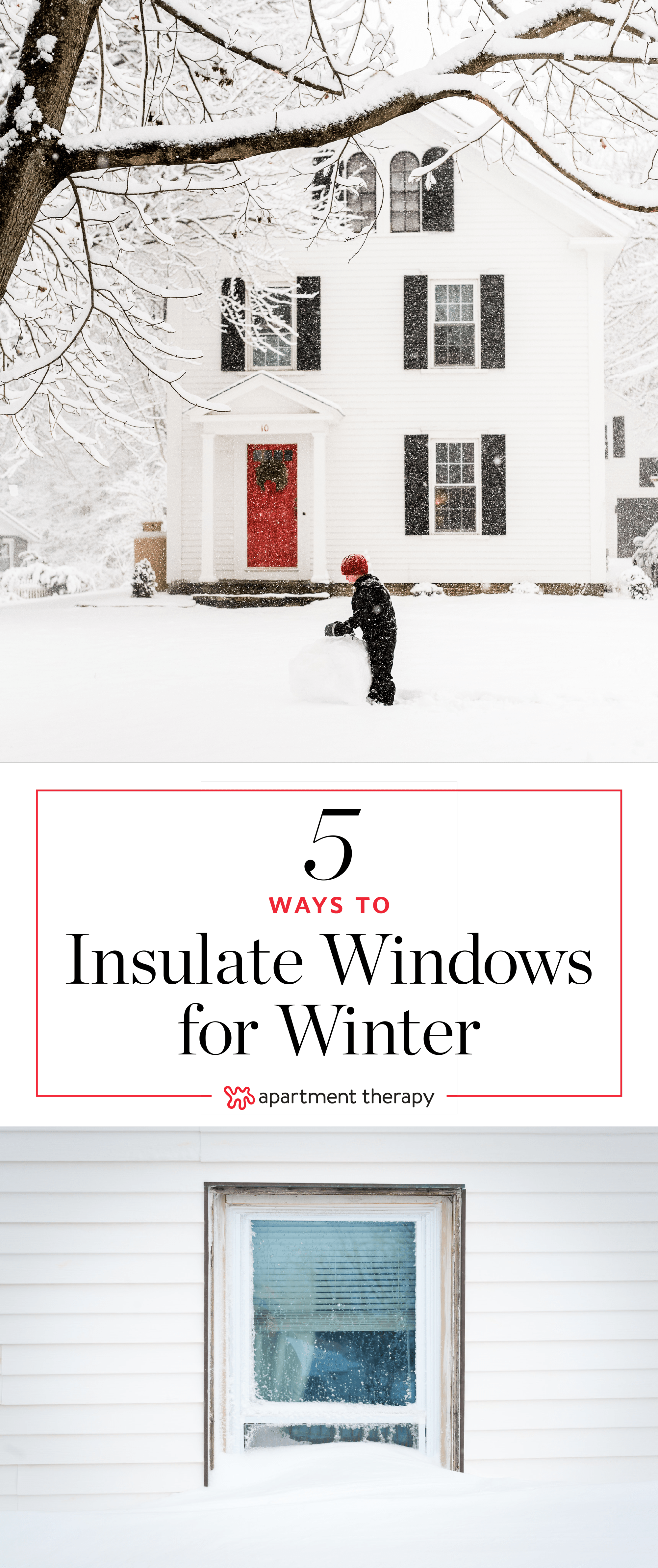 How To Insulate Windows 5 Ways To Insulate Your Windows For Winter Apartment Therapy