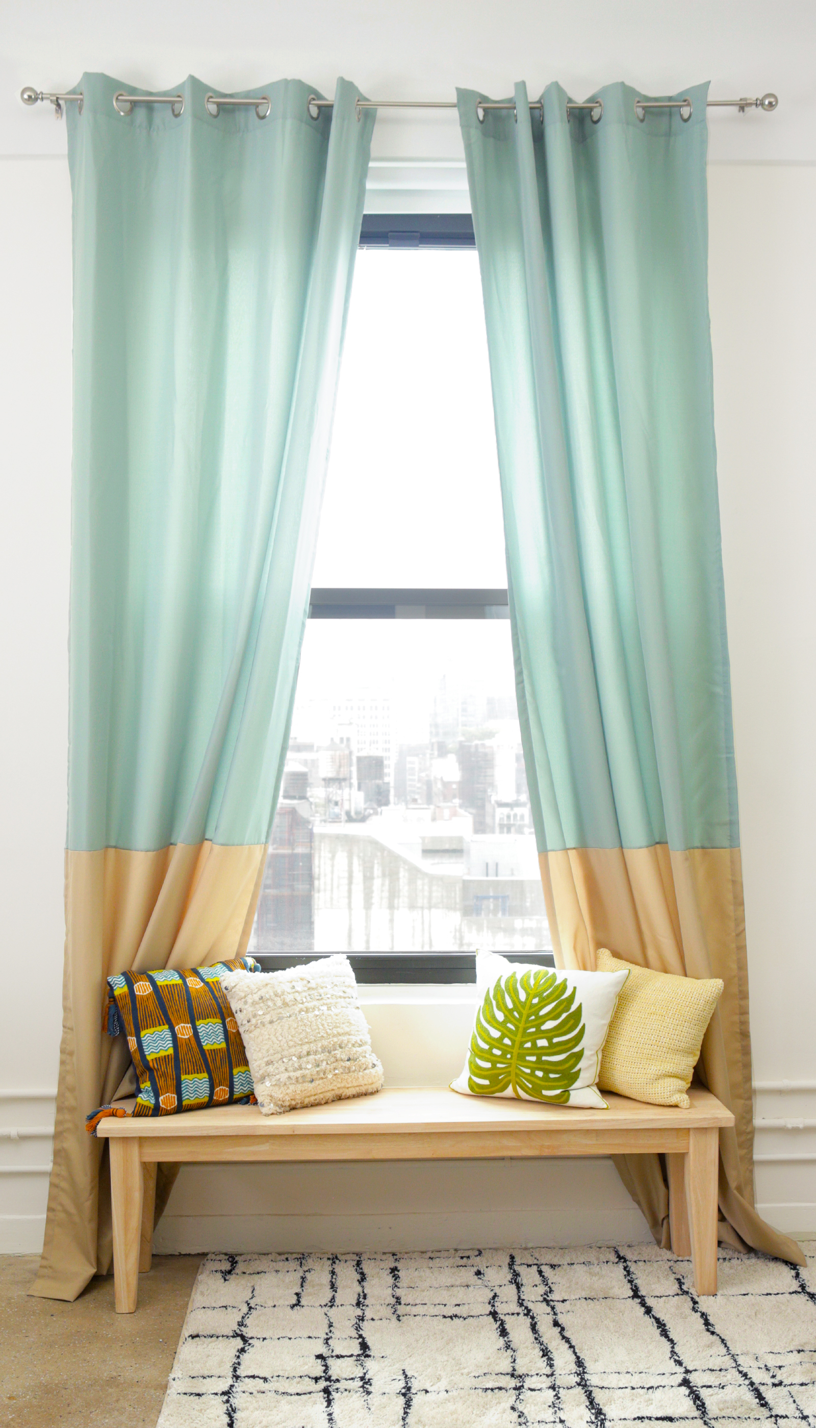 Curtains For Long Windows How To Hang Curtains Do S And Don Ts Apartment Therapy