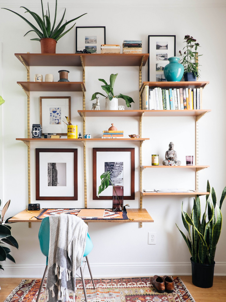 Small Wall Shelf Ideas Wall Mounted Shelving Systems You Can Diy Apartment Therapy
