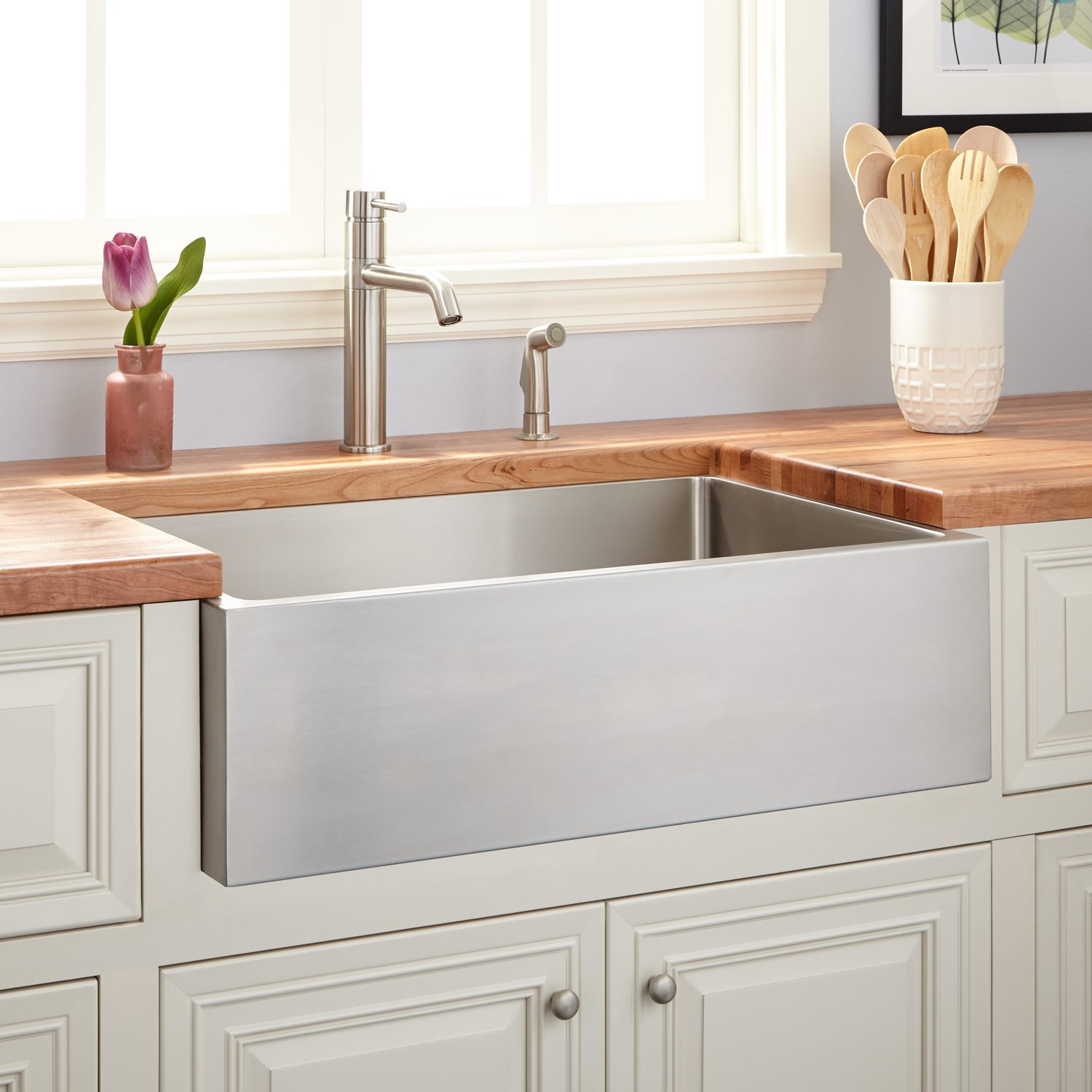White Farmhouse Sinks For Sale Apron Front Farmhouse Sinks Our Best Budget Picks Apartment