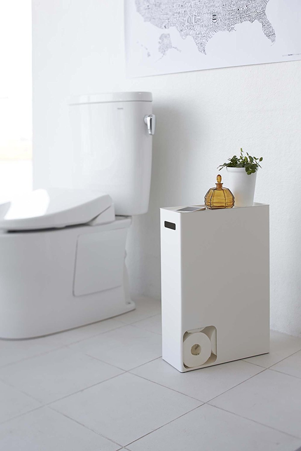 Covered Toilet Paper Storage Toilet Paper Storage Ideas For A Small Bathroom Apartment Therapy