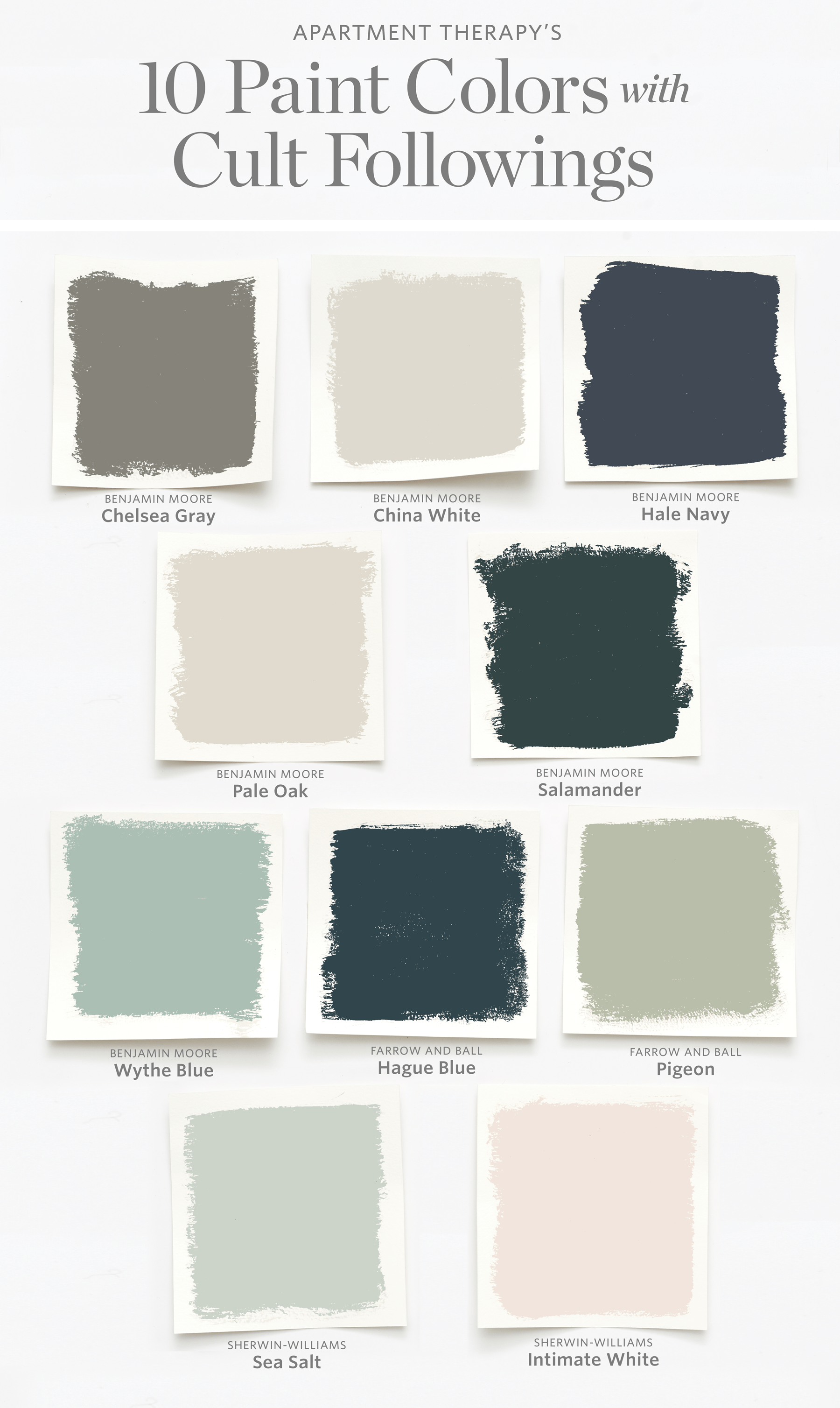 Benjamin Moore Bedroom Colors The Best Paint Colors With Cult Followings Apartment Therapy