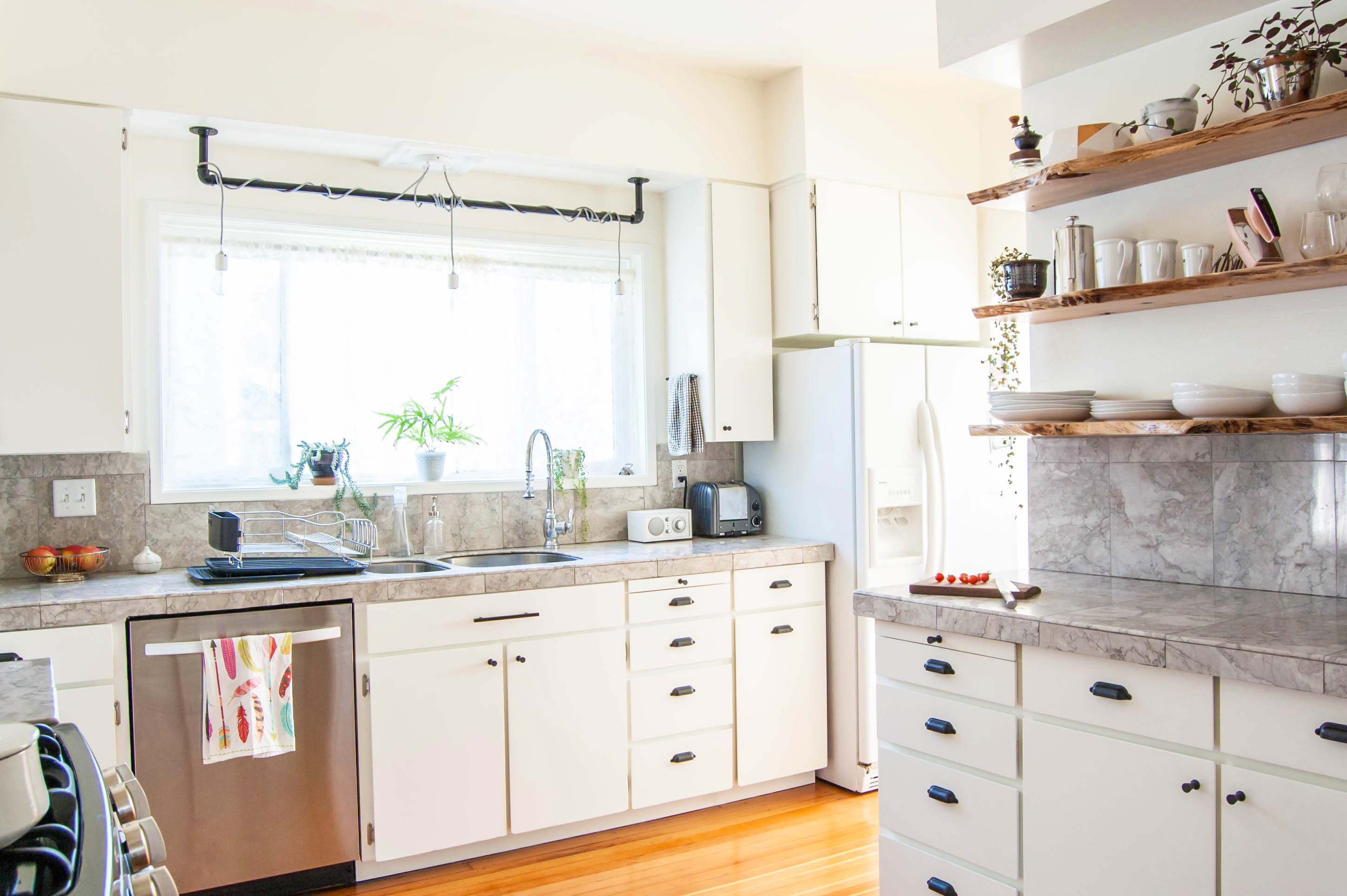 Easy Way To Make Own Kitchen Cabinets 8 Ways To Create Storage In A Small Kitchen You Own Kitchn