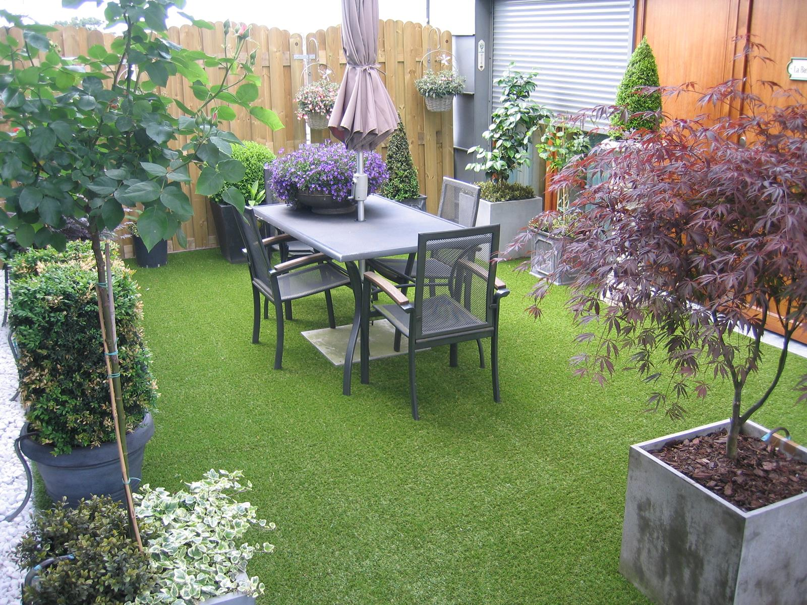 Gazon Terrasse Exemples De Pose De Gazon Synthétique Chez Nos Clients Greenside