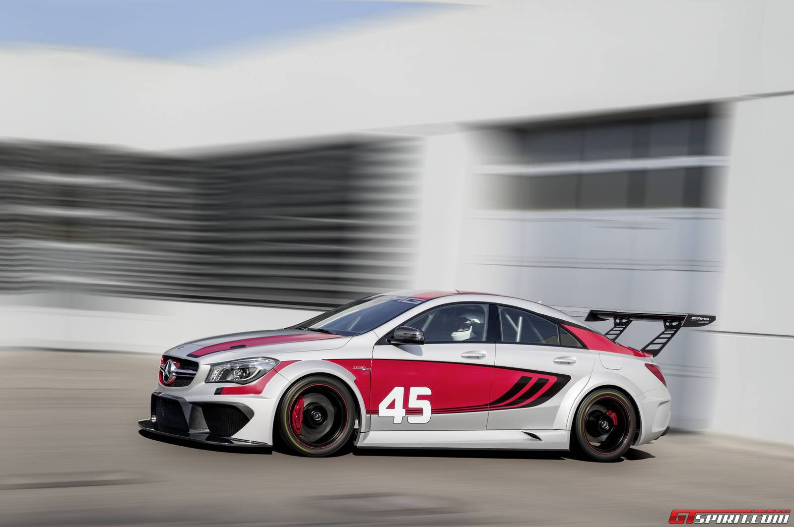 Mercedes Cla45 Amg Official Mercedes Benz Cla 45 Amg Racing Series Concept