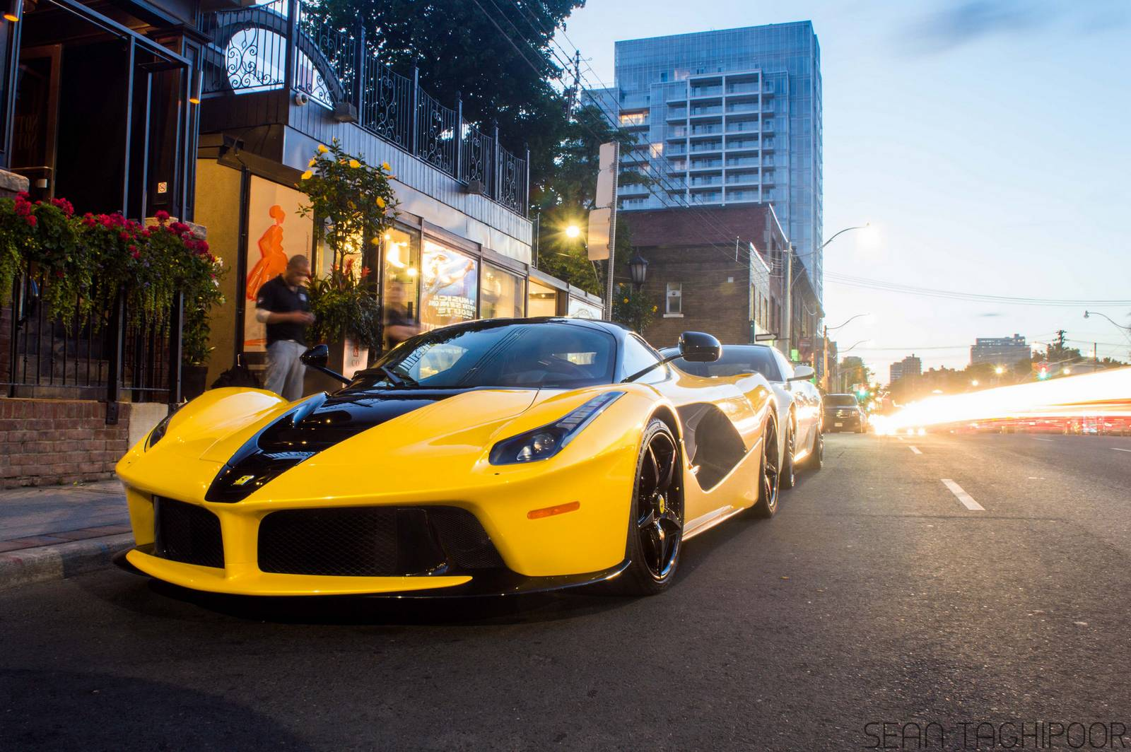 Classic Car 4k Wallpapers Unique Black N Yellow Laferrari From Toronto Gtspirit