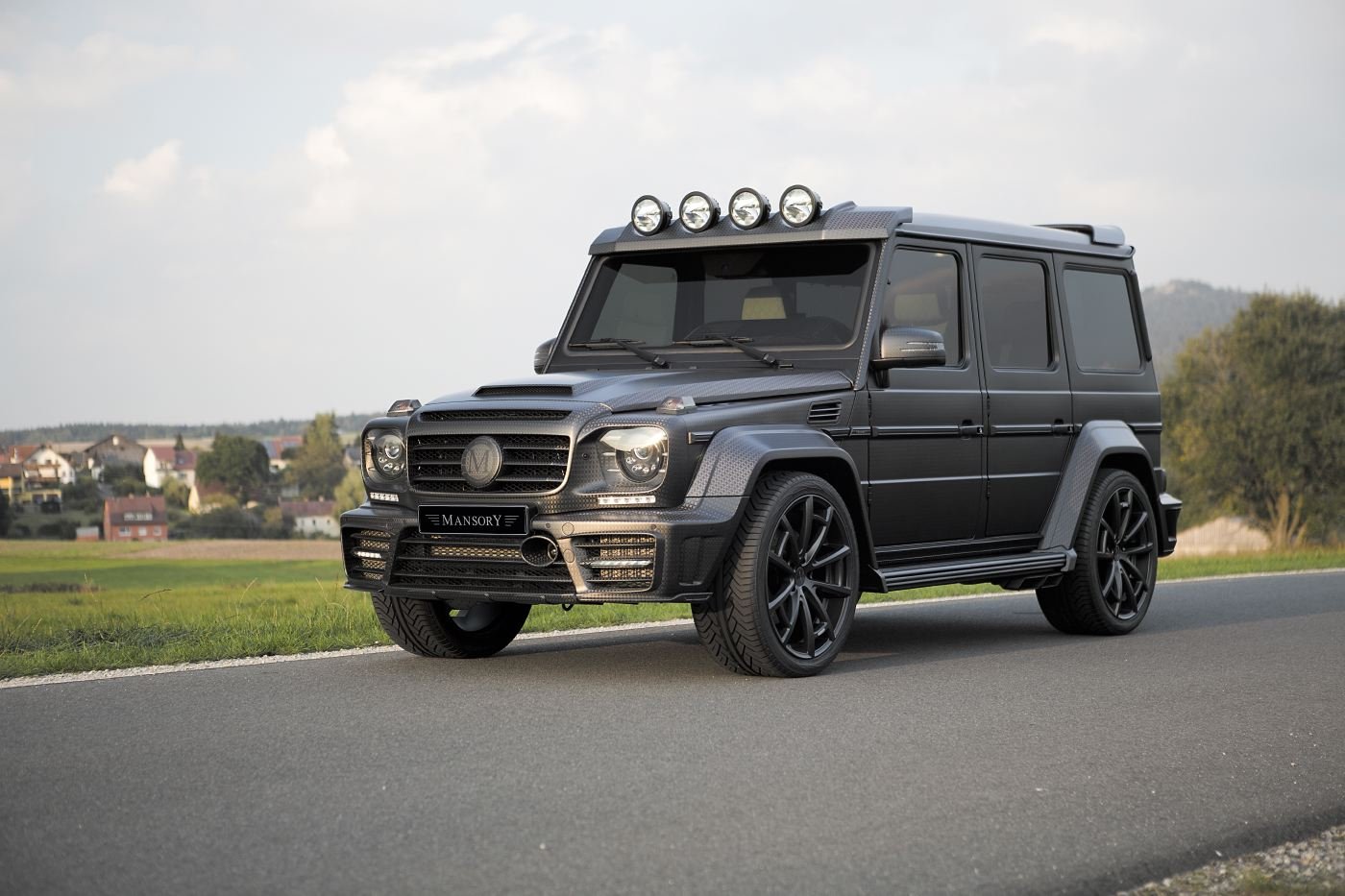 Suv Wallpapers Hd Official Mansory Gronos G63 Amg Black Edition Gtspirit
