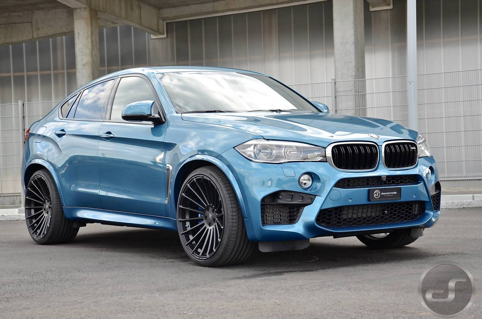 Tuner Car Wallpaper Hd Long Beach Blue Hamann Bmw X6 M By Ds Gtspirit