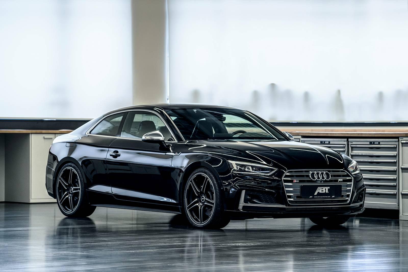 Only Black Wallpaper Official Abt Audi S5 Gtspirit