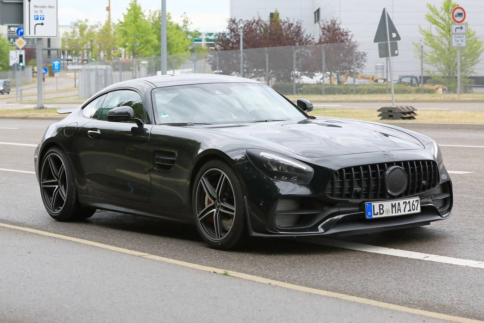 Amg Gt 2019 Mercedes Amg Gt Facelift First Spy Shots Gtspirit