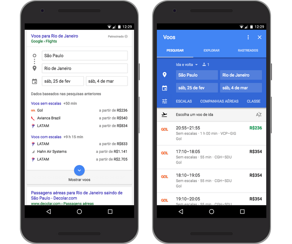 Google Flights Google Flights Makes Travel Planning Even Easier In Brazil