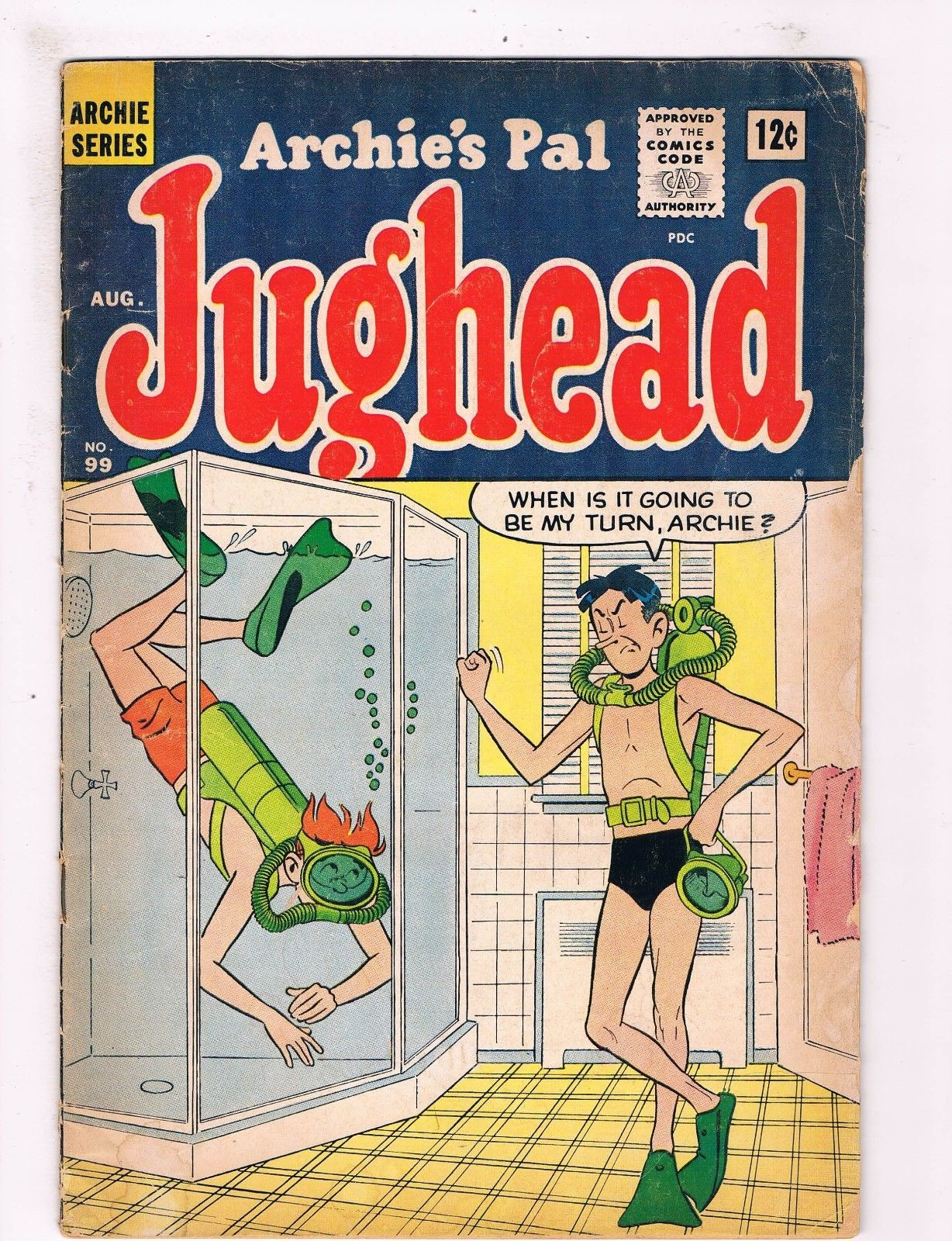 Bett Comic Jughead 99 Vg Archie Comics Comic Book 1st Series Bett Veronica