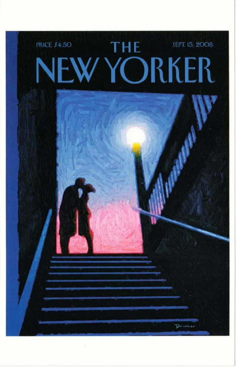 Art Of Eric Drooker New York Moment By Eric Drooker On 2008 New Yorker Magazine