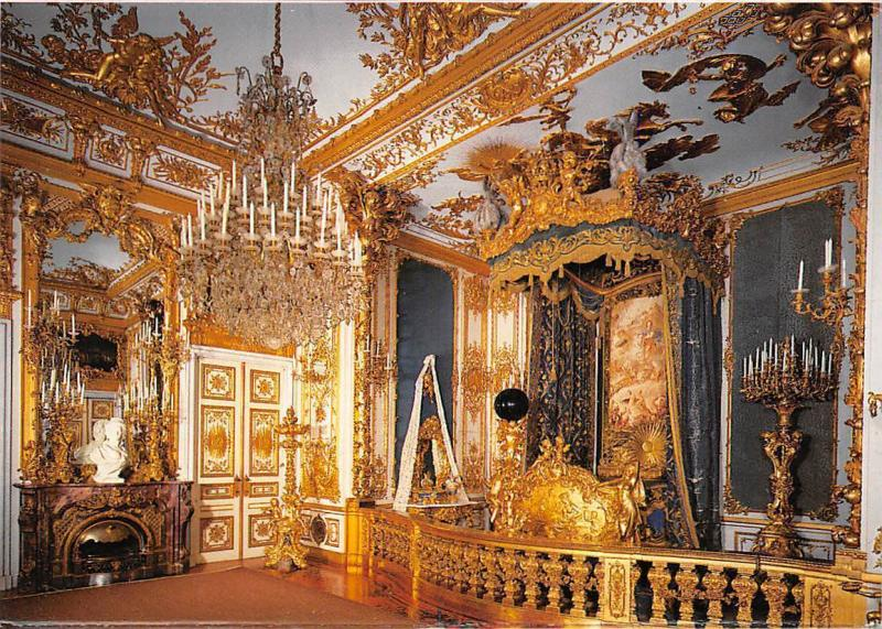 Schloss Schlafzimmer Bedroom Kings Castle Herrenchiemsee