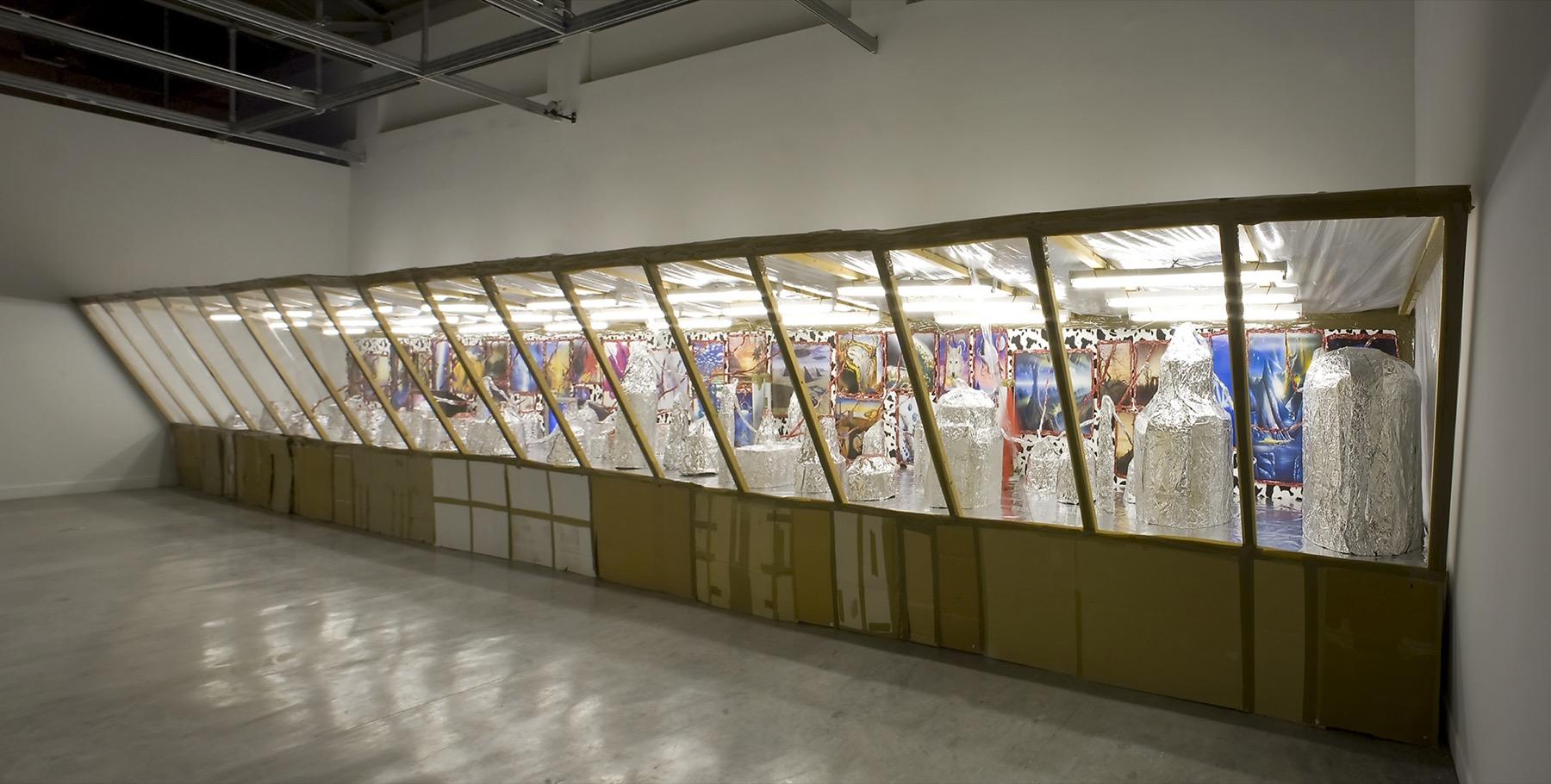 Thomas Hirschhorn Diorama Ica Miami
