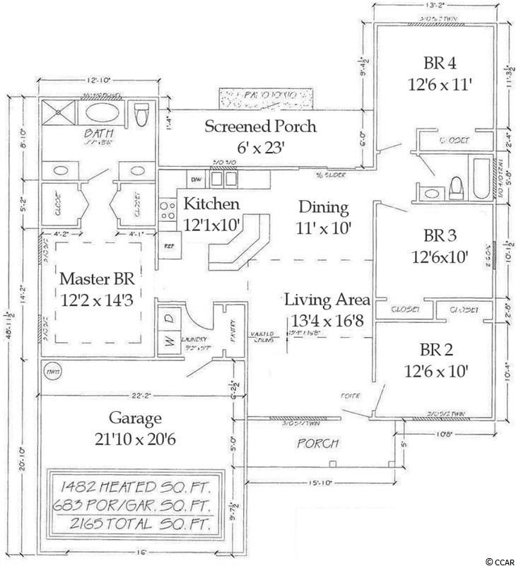 Listing Tbb3 Cupola Dr, Longs, SC MLS# 1807580 Clay Rail