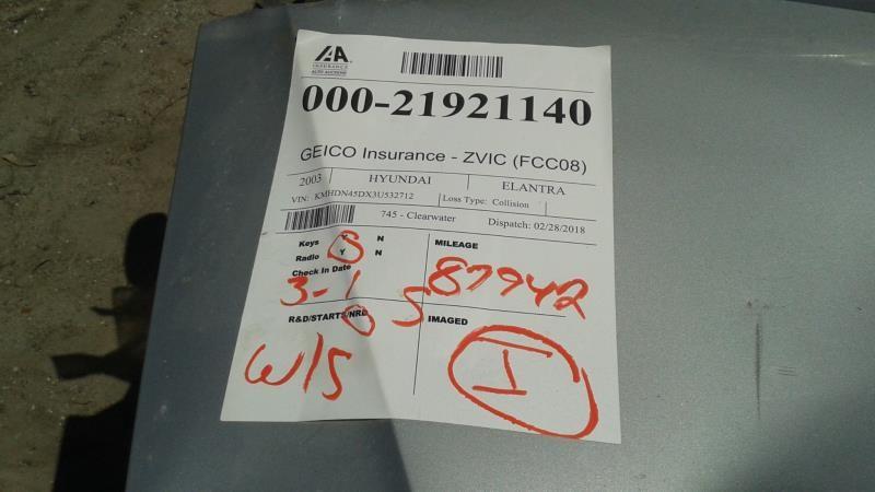 Hyundai Elantra Fuse Box Used Car Parts