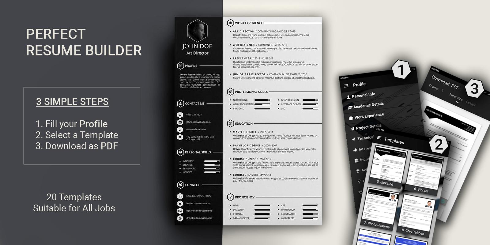 resume maker cd