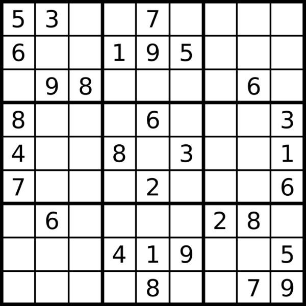 1 million Sudoku games Kaggle