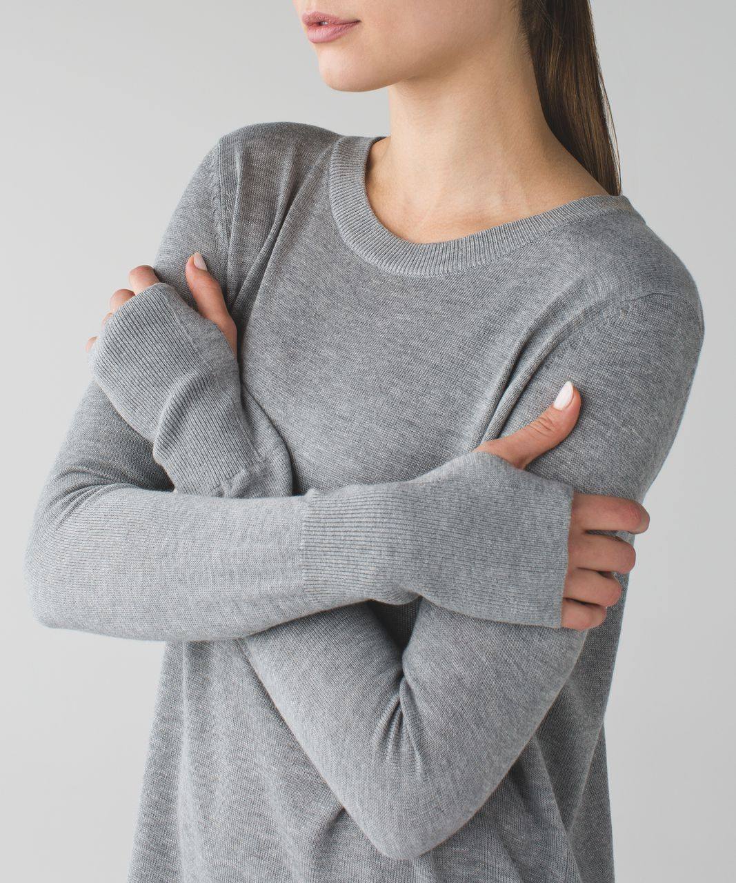 Pullover Vs Pullover Lululemon Bring It Backbend Sweater Heathered Medium