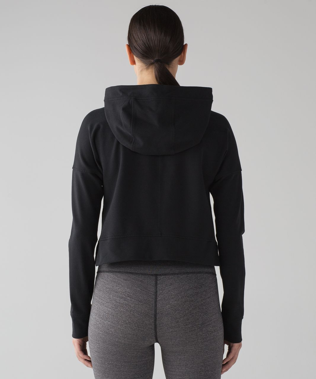 Pullover Hoodie Cut Lululemon Cut Above Pullover Black