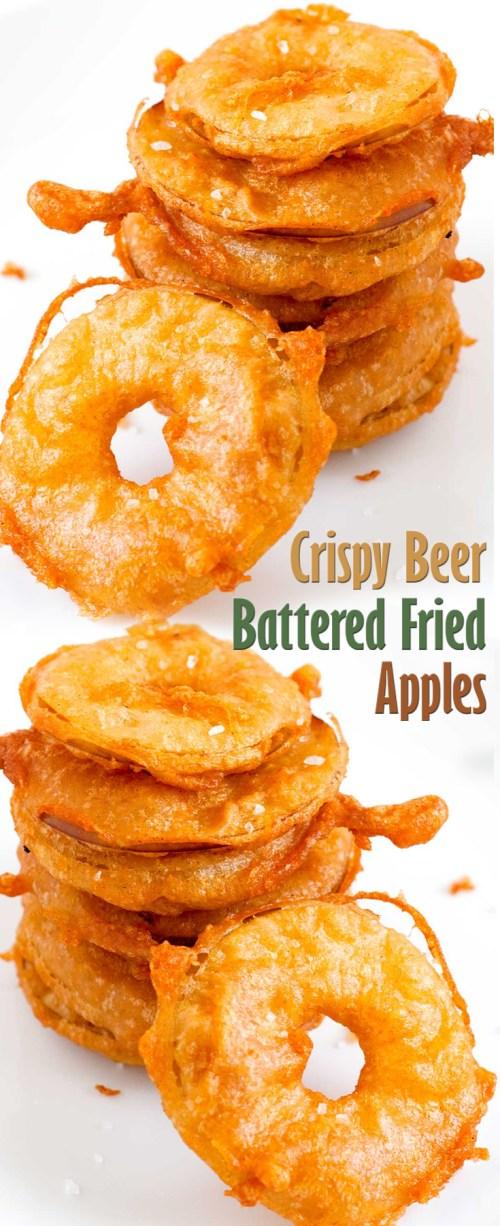 Medium Of Fried Apples Recipe