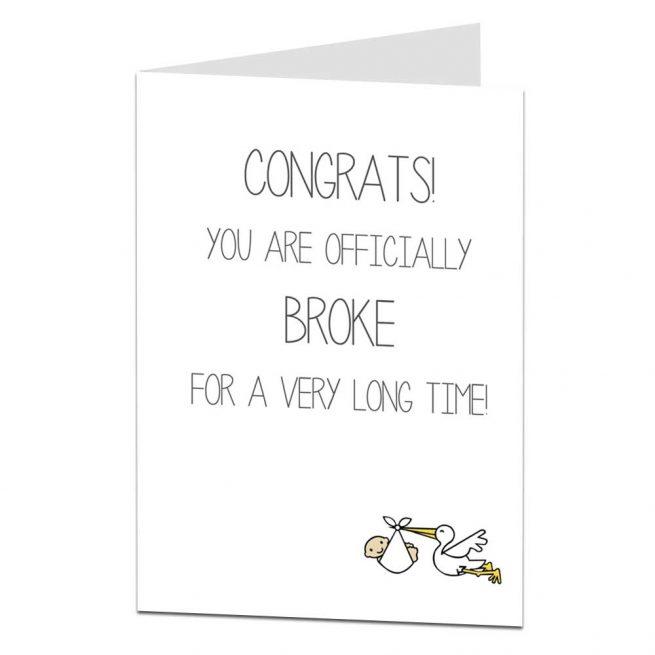 Congratulations Pregnancy New Baby Card