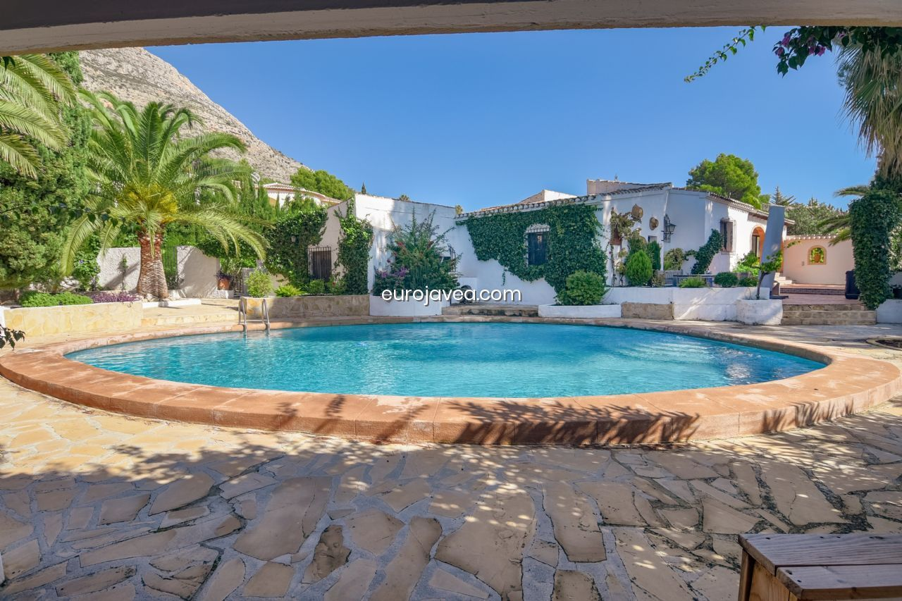 Ferienhaus Mit Pool In Xabia For Sale Villa In Jávea Montgo Castellans With Swimming Pool
