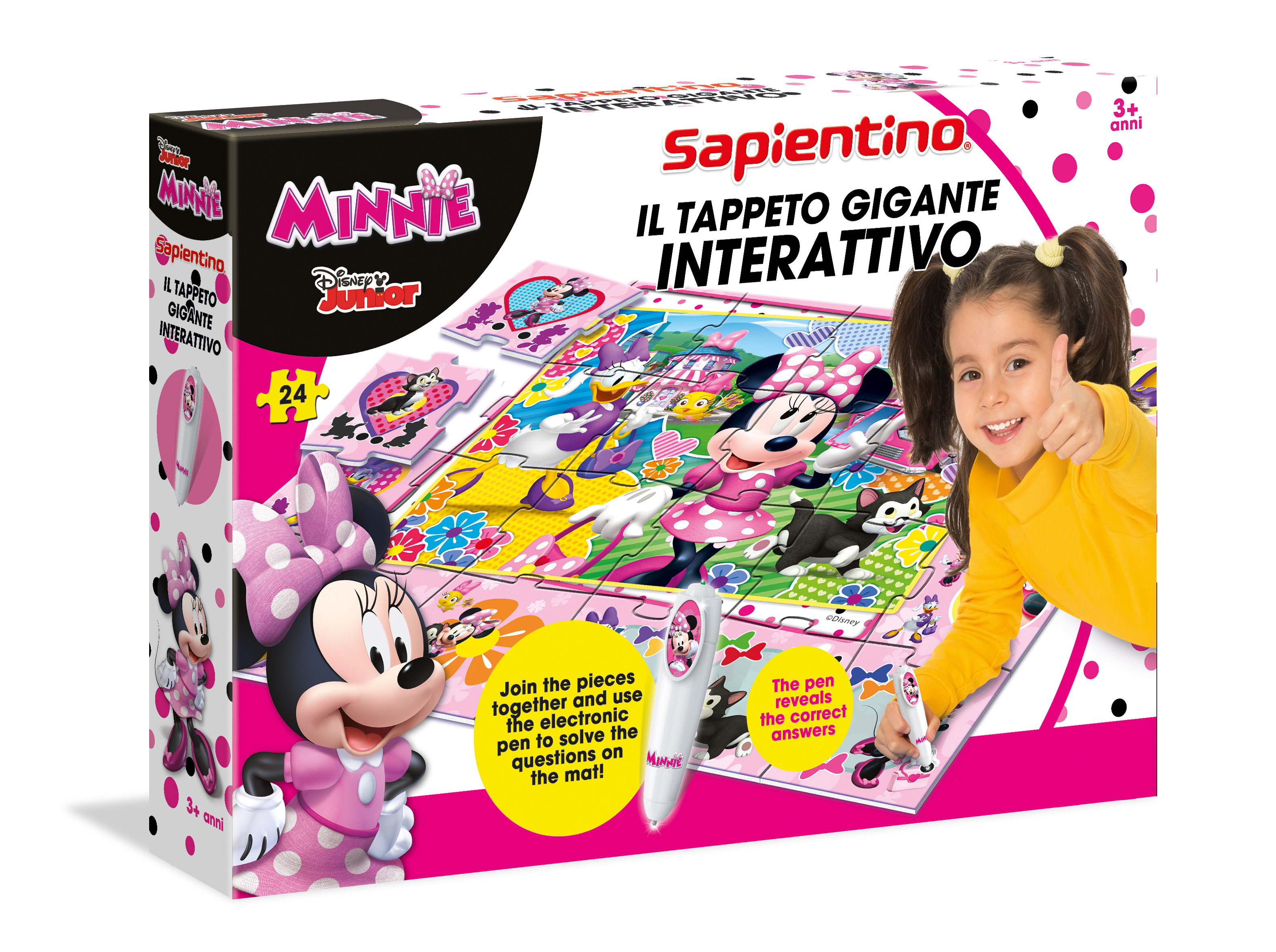 Tappeto Musicale Gigante Tappeto Gigante Minnie Happy Helpers