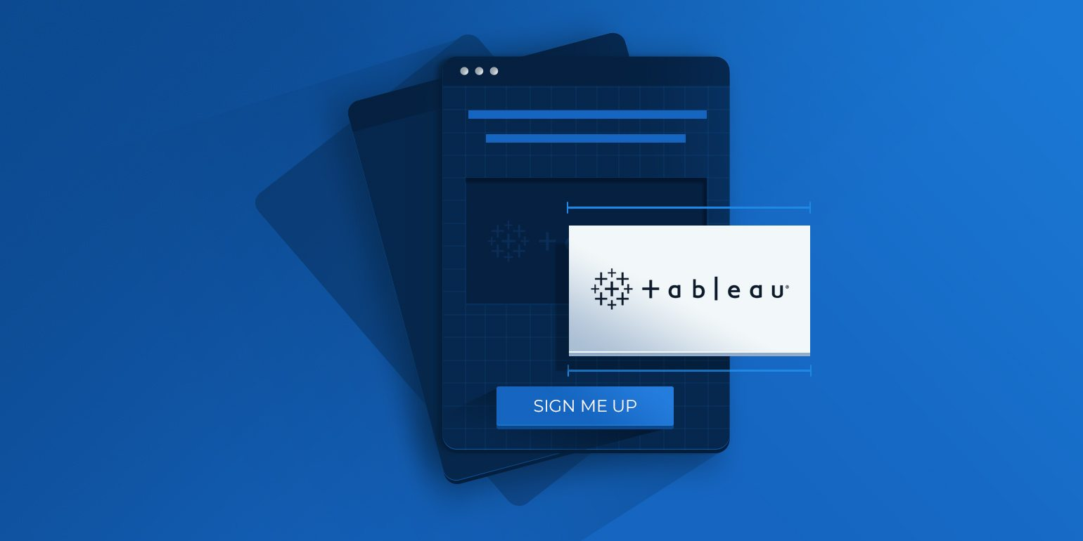 Tableau Design 5 Tableau Landing Page Examples To Help Guide Your Next Design