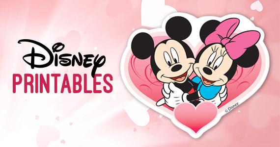 Free Disney Valentine\u0027s Day Printables