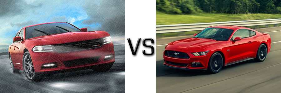 2016 Dodge Charger vs Ford Mustang Swope Chrysler Dodge Jeep Ram