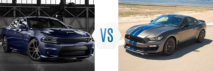 2017 Dodge Charger vs Ford Mustang Swope Chrysler Dodge Jeep Ram
