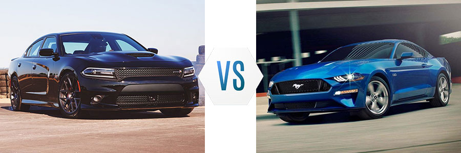 2018 Dodge Charger vs Ford Mustang Swope Chrysler Dodge Jeep Ram