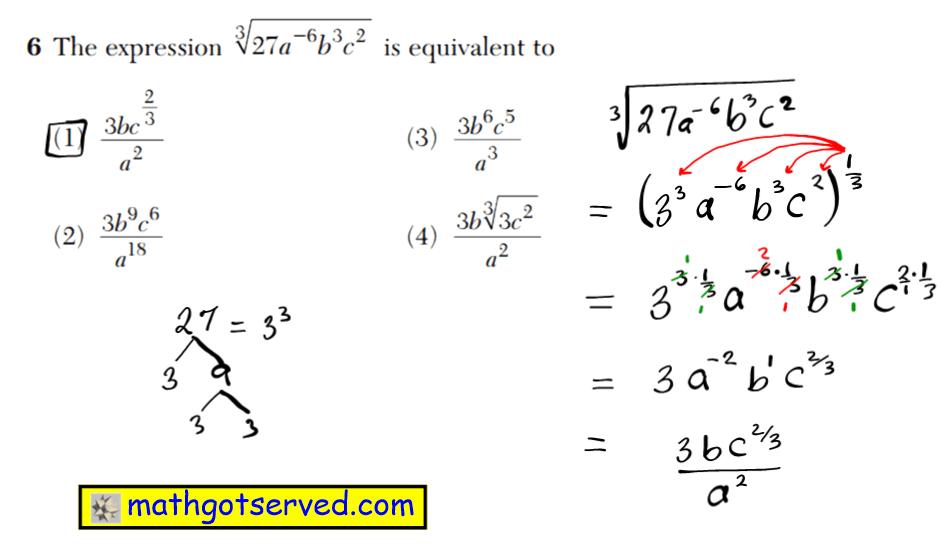 common core algebra regents practice