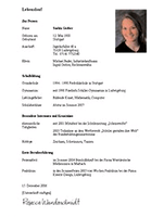The Perfect Cv In Germany Immigrant Spirit Gmbh Germany University Application Resumes Letters And