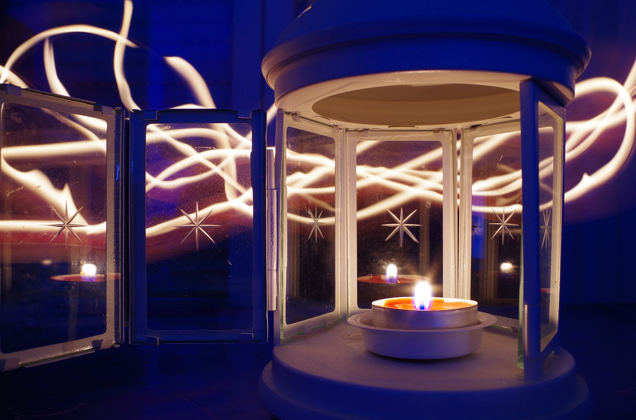 Candle Light Painting Light Painting Candle Light Trails Free Pictures Free Photos