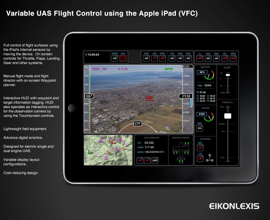 Diy Drone Software Uav Control Via Ipad Diy Drones
