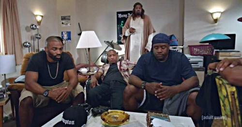 Black Jesus at home